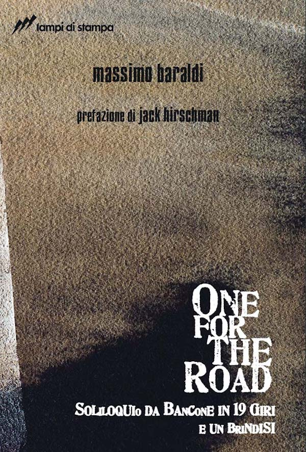 One for the Road di Massimo Baraldi - copertina Enrico Cazzaniga